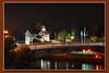 Michigan Harbor at night 4x6