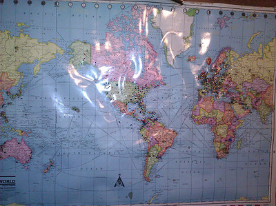 More worldwide TWO visitors