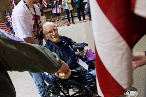 HONOR FLIGHT RETURNS