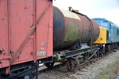 2408 20t Esso Tank at Dereham  13/02/16