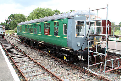 DMU 56301 at County School Station.