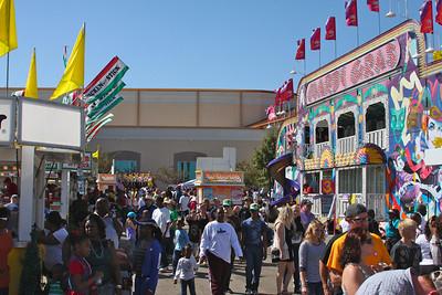 Crowd at Mid-South Fair