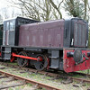 Ruston & Hornsby 0-4-0DM 304470  Mid Suffolk Railway  06/04/12.