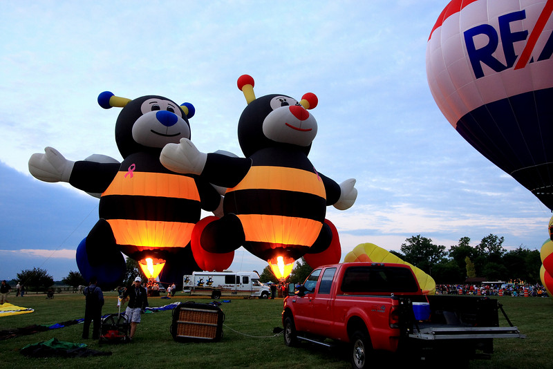 MidFirst Ohio Balloon Glow 2009