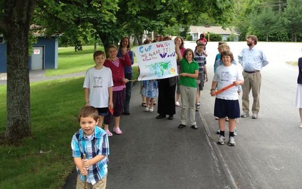 Middle School Walk Around the World