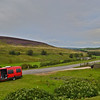 Leaving Weardale on route for Teesdale  England