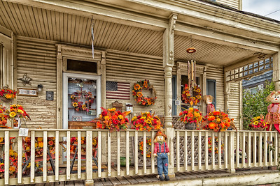 Well Decorated for Fall