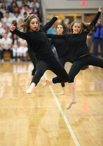 Kaitlyn Taylor (foreground) and Jillian Sykes. photo by Ray Riedel