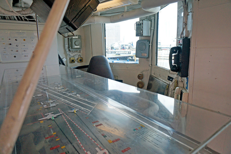 Flight deck control