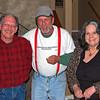 Bruce McDougald, Harvey Downs and Sharon Woods