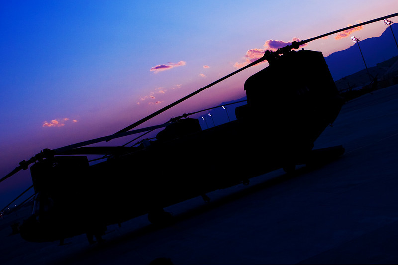 Sunset at Bagram