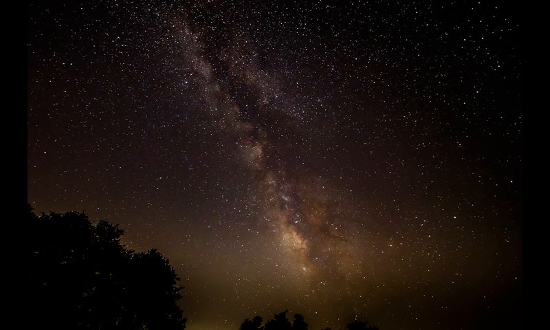 Milky Way Timelapse - Thu, Aug 6, 2015