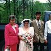 Mama, Bride, Freddie, Forest Bush<br /> 5/1990