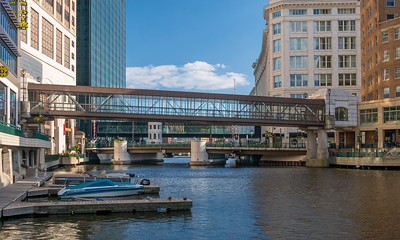 Bridges, River Walk, Milwaukee, Wisconsin