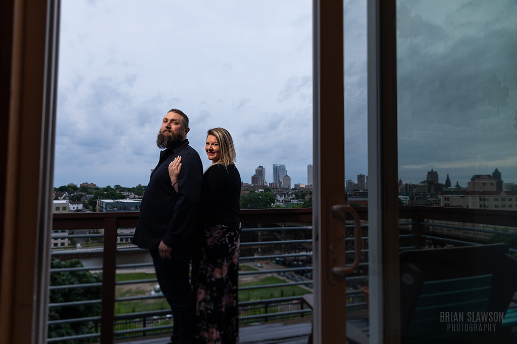 Milwaukee engagement shoot