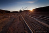 Drag Line for Coal, Sunset, Wyoming