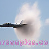 F-18 Creating Sound Barrier Pressure Cone