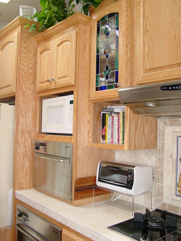 Microwave/Oven Cabinet without trim kit
