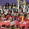 ERHS' Choris performs special music during graduation ceromonies.
