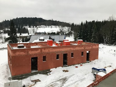 "Construction under way - ""U Vinklare"""