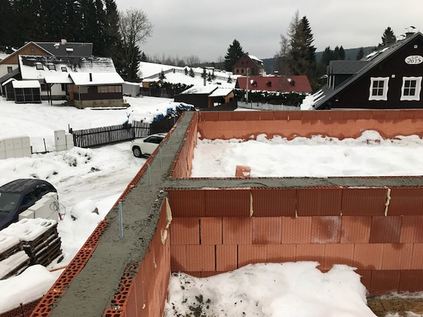 "Construction under way - ""U Vinklare"""