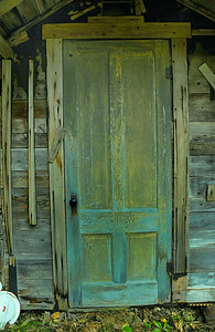 Outhouse door, Northern Maine