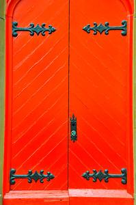 Red Door, Grace Restaurant, Portland, Maine