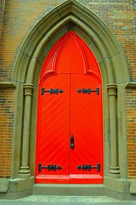 The Red Door at Grace Restaurant, Portland, Maine