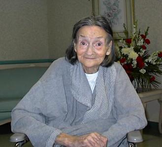 My father (Norm Rhinehart)'s sister Mildred McWherter (84) - taken 11 Aug 2000