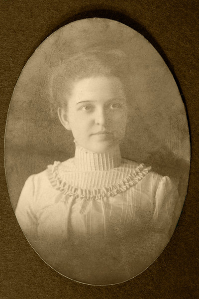 Martha Biement Bement with us from 1900 to 1901 Ottawa St & Roaring Brook at Woodbury Cottage PS-ed
