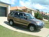 Ahhh the CRV...fantastic for on the roads...not so good if any 4x4 is involved...so its been traded in for a tank!
