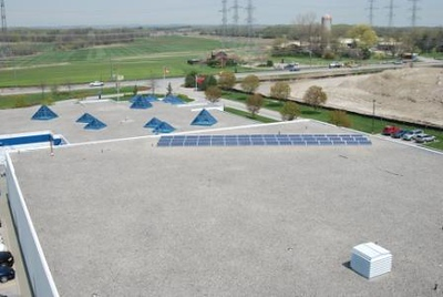 Veridian Corp. Ajax – approx 8kW array