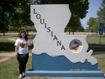 Louisana Visitor Center. June 2006