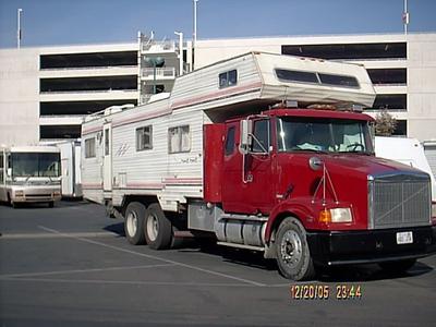 Taken at Disneyland RV parking area, Dec.2005