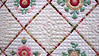 "Lane Co. Historical Museum, 33rd annual Unbroken Thread Quilt Show, Eugene, OR<br /> <br /> ""Sweet Rose of Sharon"" quilting detail"