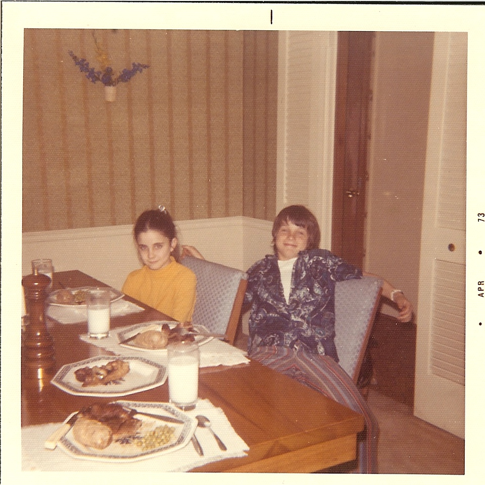 1973 April - Young Tim and Dana