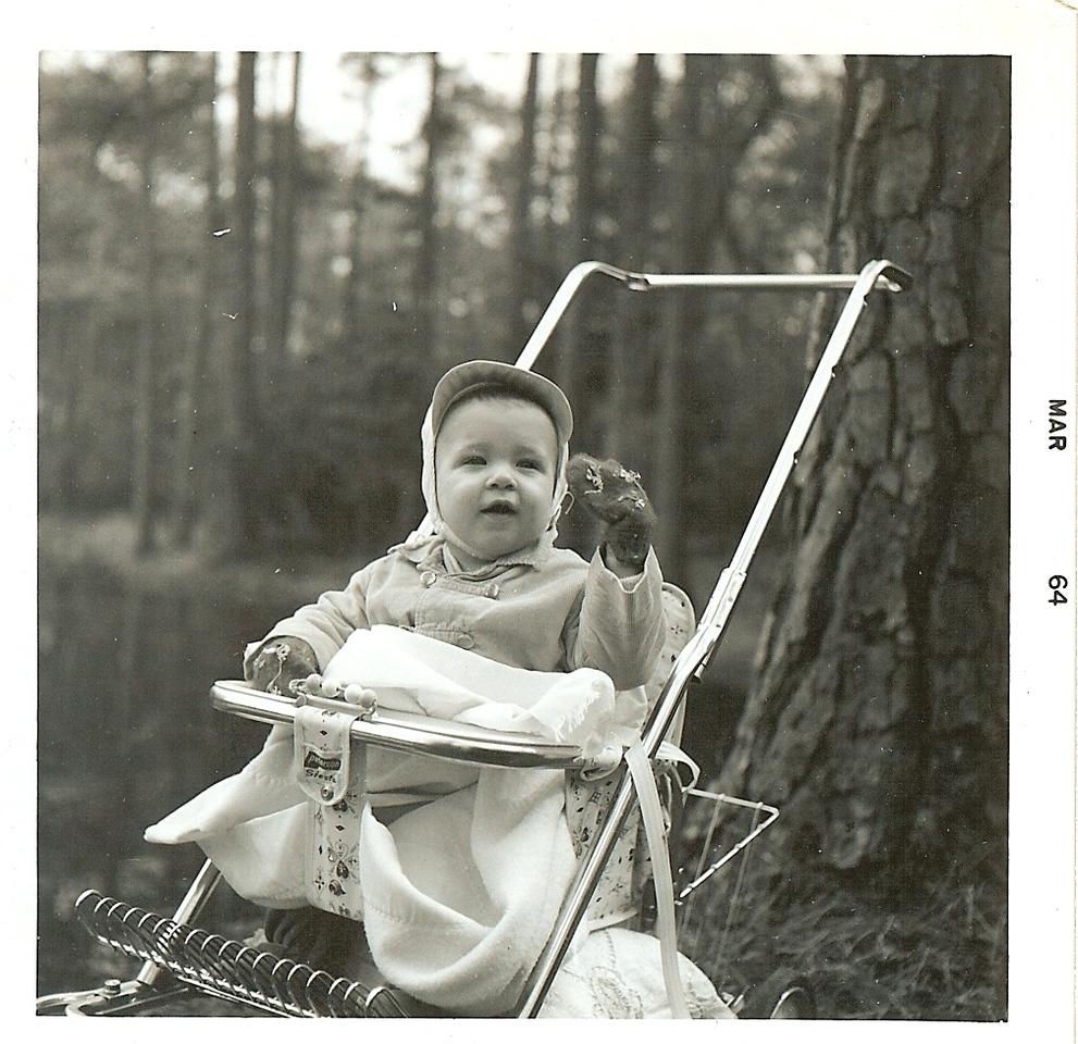 1964 March - Tim - Norfolk Botanical Gardens