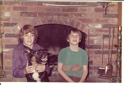 1971 December - Matt and Tim - Overland Park, KS