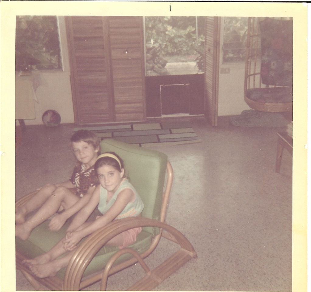 1970 Mother's day - Young Tim and Dana