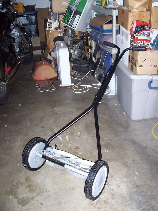 The new lawn mower.
