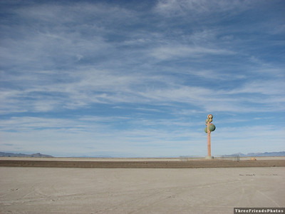 """Art"" along I80 between Wendover, Nevada and Salt Lake City, Utah"