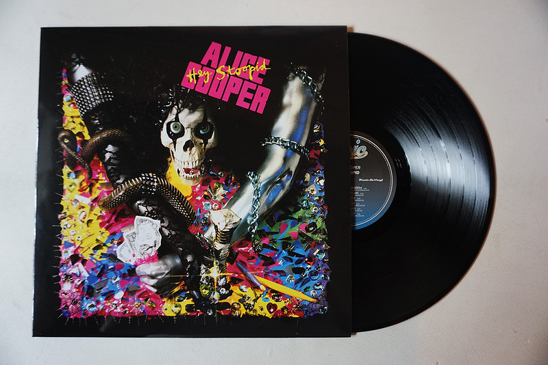 Alice Cooper: Hey Stoopid, Black Vinyl
