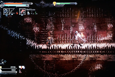 Playing now on Switch: Salt and Sanctuary