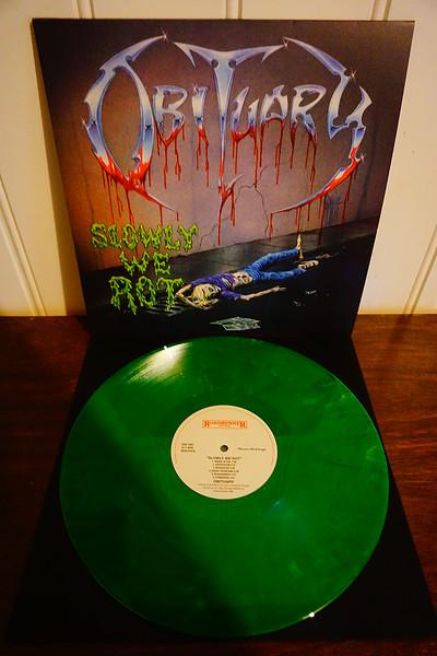 Obituary: Slowly We Rot, Yellow & Green Mixed Vinyl