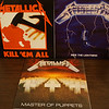 Metallica Remasters: Kill 'Em All, Ride the Lightning & Master of Puppets, Black Vinyls