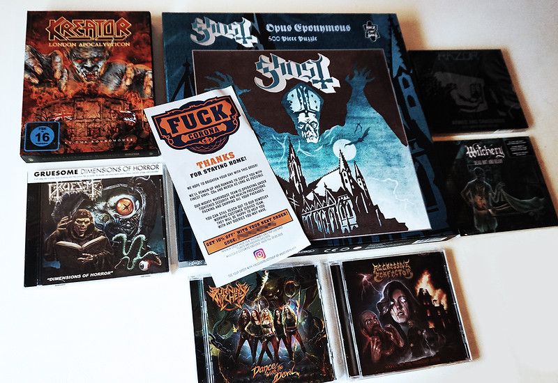 Fast Shipping From Nuclear Blast Germany 🤘