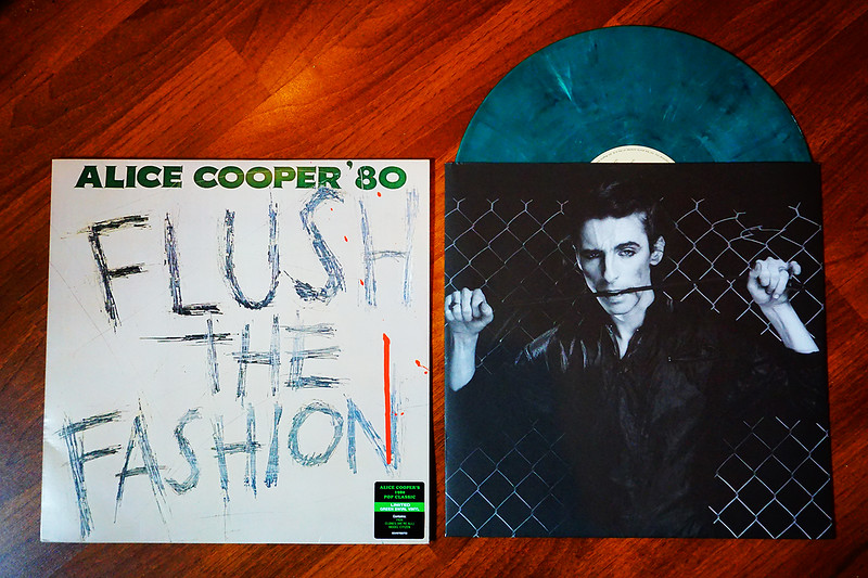 Alice Cooper: Flush the Fashion, Green Swirl Vinyl