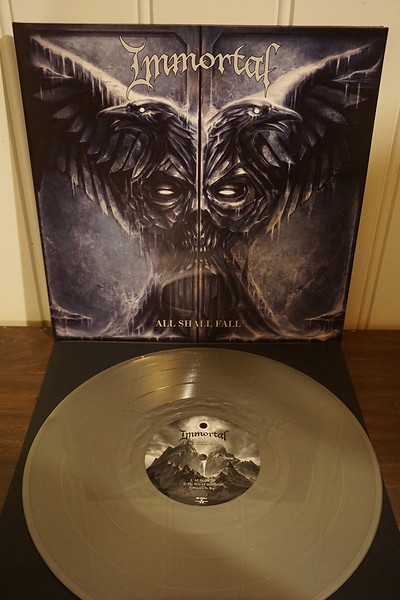 Immortal: All Shall Fall, Silver Vinyl
