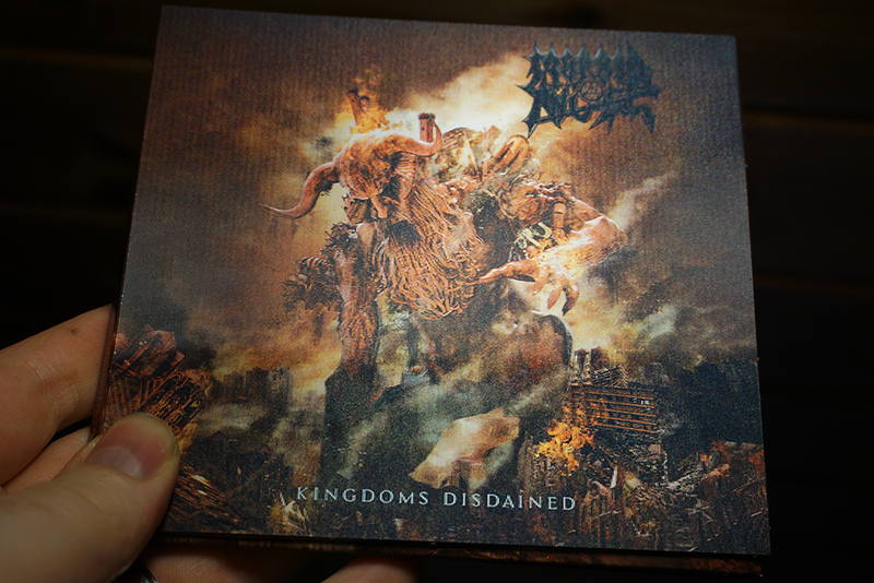 Morbid Angel: Kingdom Disdained, with '3D' cover