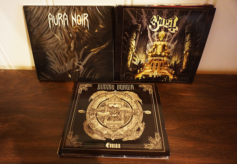 Aura Noir: Aura Noire,  Ghost: Ceremony And Devotion, Dimmu Borgir: Eonian (Digipacks)
